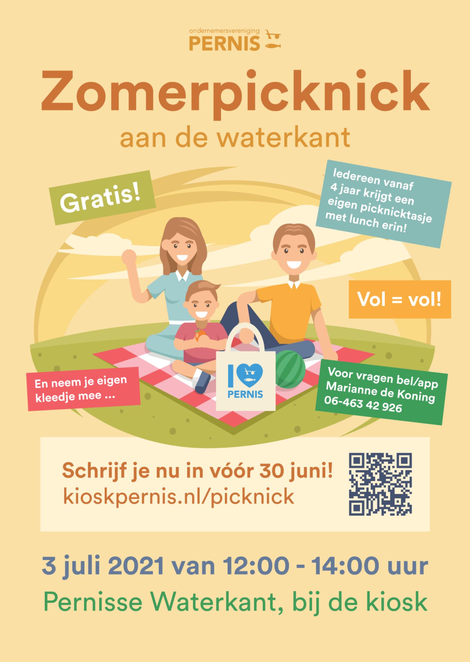 Poster zomerpicknick A2